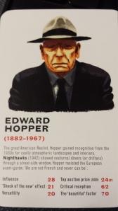 Edward Hopper's Card