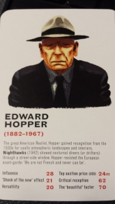 Edward Hopper's Card