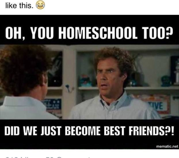Best friends homeschool
