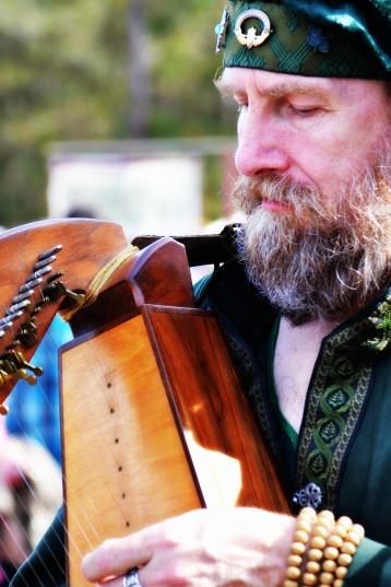 Softened Harpist